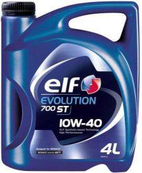 Elf Evolution 700 ST 10W40 motorolaj 4 liter