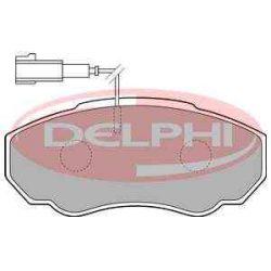 Peugeot Boxer  fékbetét garnitúra | Delphi LP1750