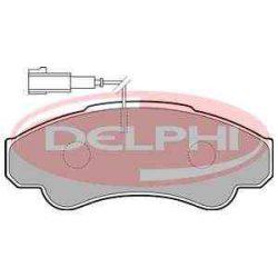 Peugeot Boxer  fékbetét garnitúra | Delphi LP1751