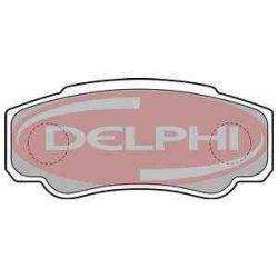 Peugeot Boxer  fékbetét garnitúra   Delphi LP1790
