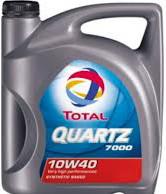 Total Quartz 7000 10W40 motorolaj 5 liter