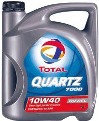 Total Quartz 7000 Diesel 10W40 motorolaj 5 liter