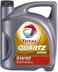 Total Quartz 9000 5W40 motorolaj 4 liter