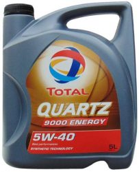 Total Quartz 9000 5W40 motorolaj 5 liter